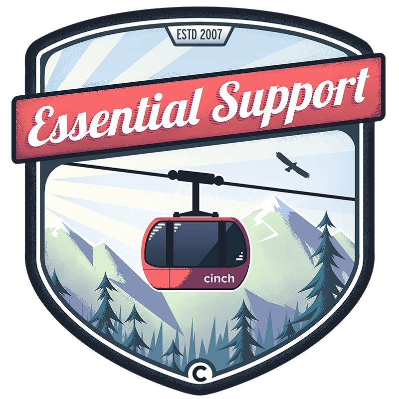 cinch-essential-support-badge