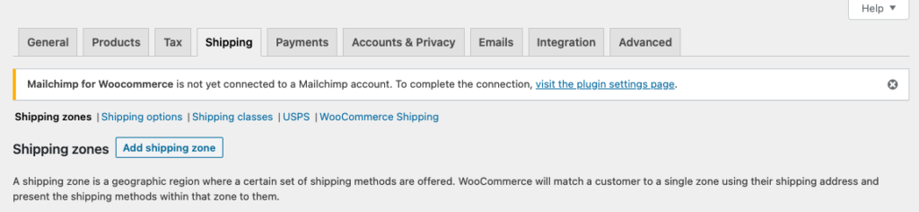 WooCommerce USPS Shipping Integration